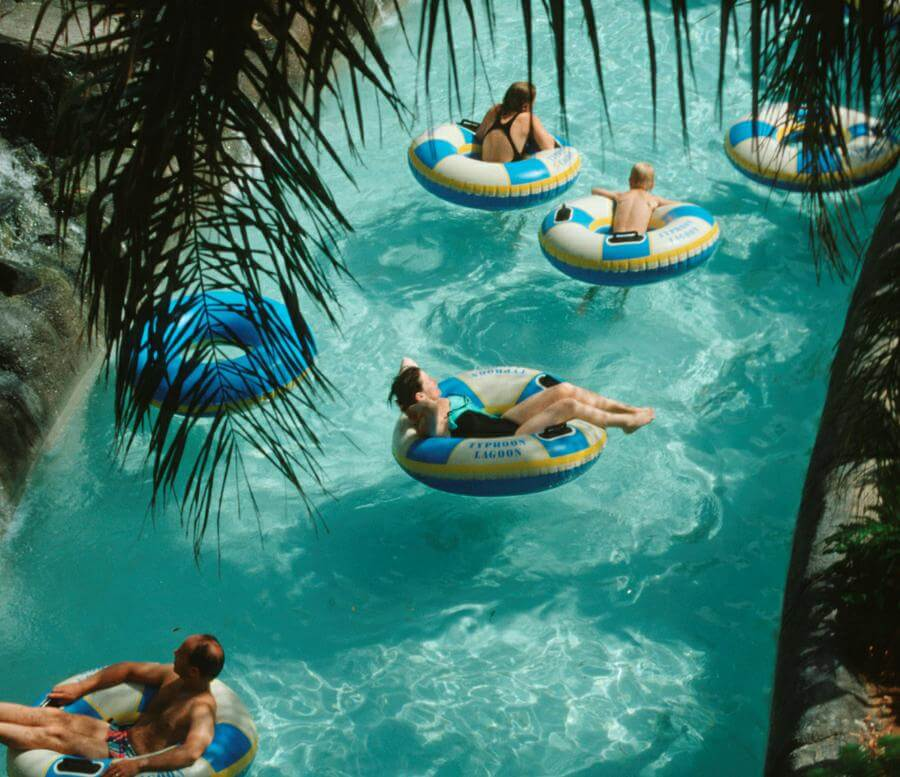 Both Disney's Blizzard Beach Water Park and Disney's Typhoon Lagoon Water Park have